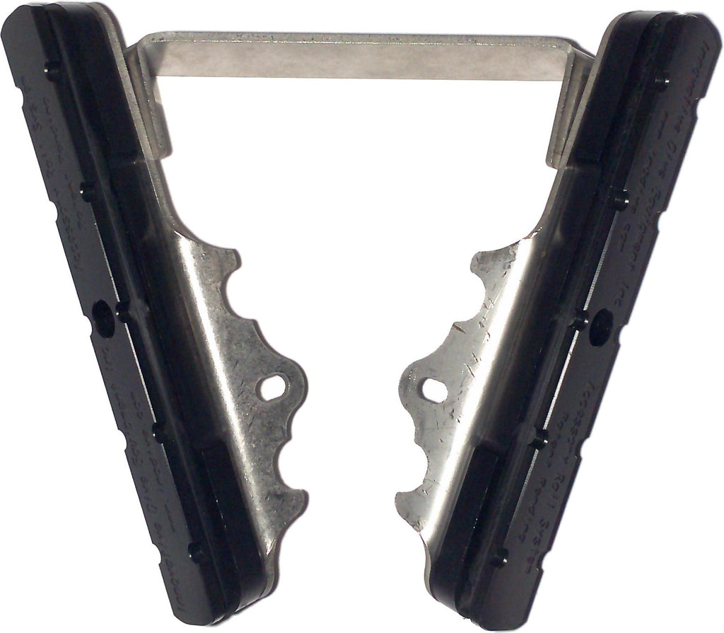 Accessory Rail System Left and Right for Kirby Morgan Fiberglass Dive Helmets