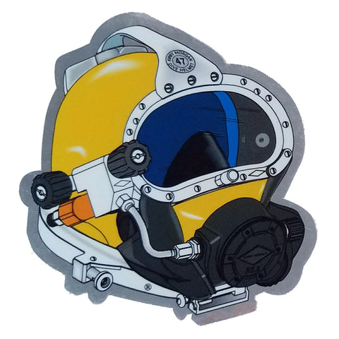 Kirby Morgan KM 47 Die Cut Sticker