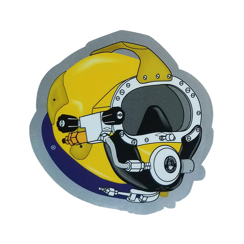 Kirby Morgan SL 17B Die Cut Sticker