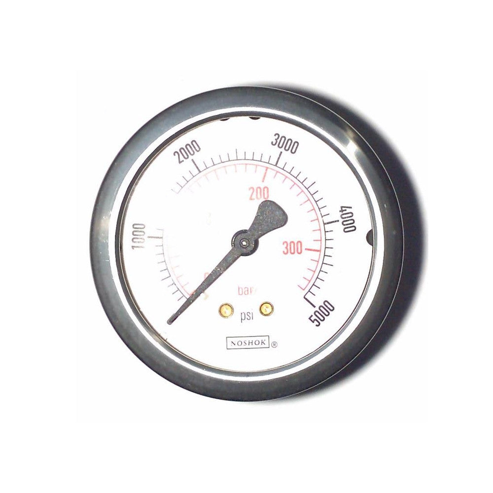 Kirby Morgan Gauge, 0 - 5000 PSI, H.P.