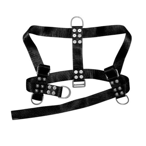 Miller Diving Black Adjustable Bell Harness - Size Medium