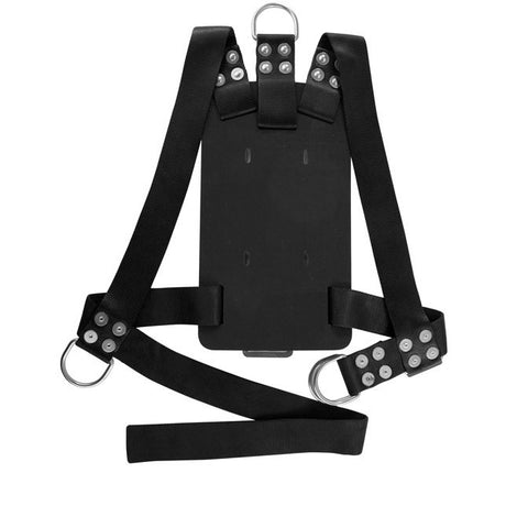 Miller Diving Black Bell Backpack Harness - Size Large