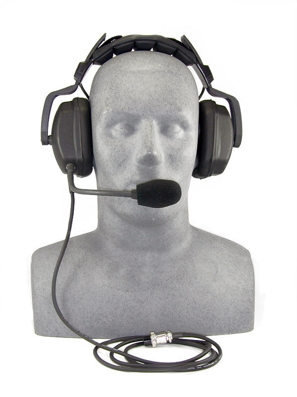 OTS THB-14 Headset Deluxe with Boom Mic. (Use with SP-100D/modified SP-100)