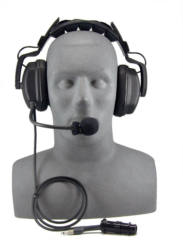 OTS THB-7A Headset, Deluxe with Boom Mic