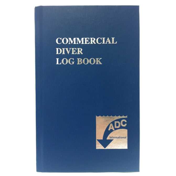 ADCI Commercial Diver's Log Book