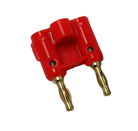 Black Rock Diving Equipment Dual Pin Banana Plug - Red