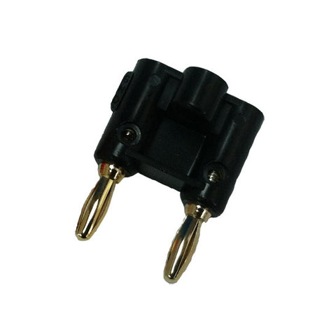 Black Rock Diving Equipment Dual Pin Banana Plug - Black