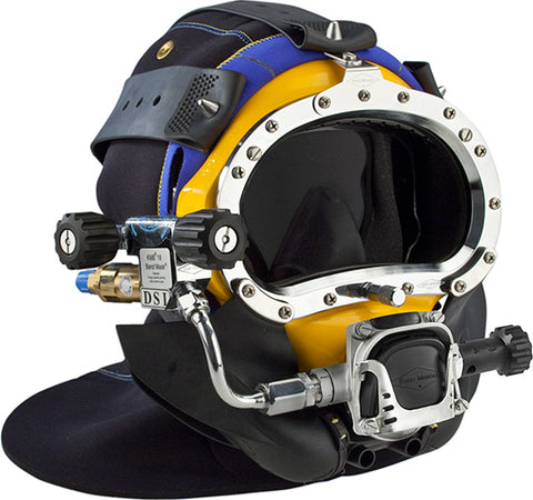 Kirby Morgan KMB Bandmask 18B Full Face Diving Mask W/ 455 Balanced Regulator