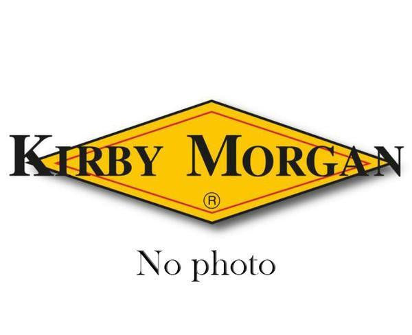 Kirby Morgan Scuba Mouthpiece, Large, for SuperFlow & Balanced Second Stage SCUBA Regulators