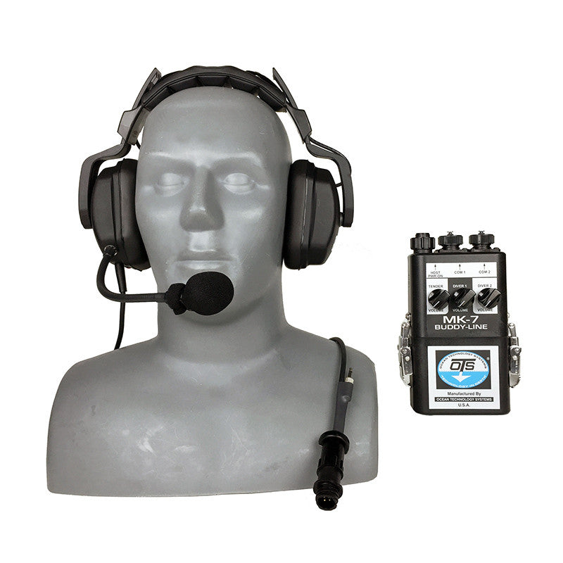 OTS MK-7 Buddy-Line - Portable Two Diver Air Intercom (4 Wire Only)