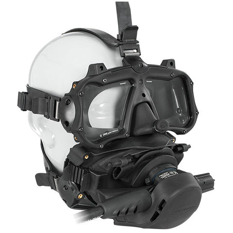 Kirby Morgan M-48 Mod-1 Full Face Diving Mask, With SCUBA Pod, With Regulator