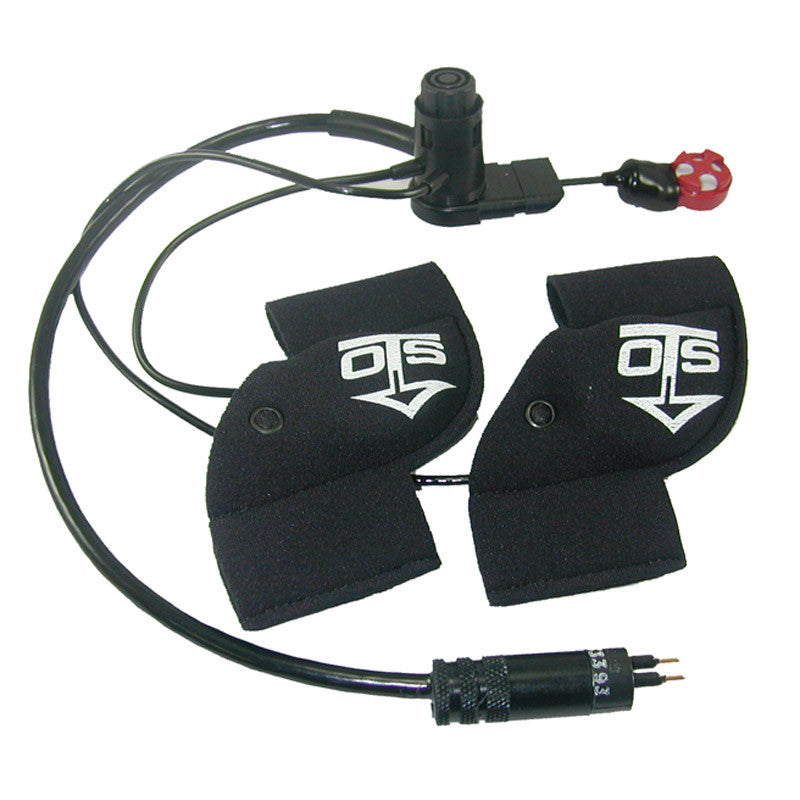 OTS EMD-2 Earphone and Microphone Assembly for Kirby Morgan M-48 Mask (Hot Mic, Dual Earphones, PTT Control, HiUse)