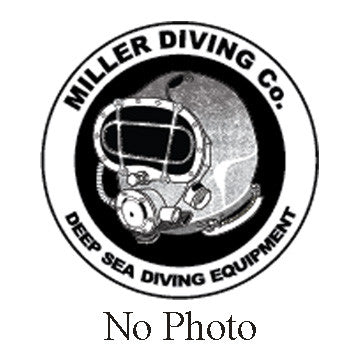 Miller Diving Washer, Chin Strap Mount