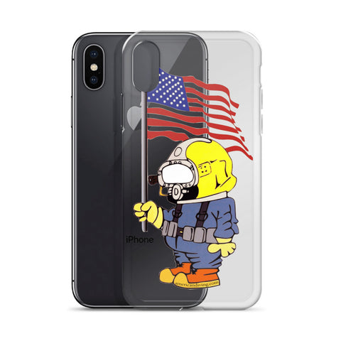 iPhone 6/7/8/X Phone Case w/ Patriot Diver