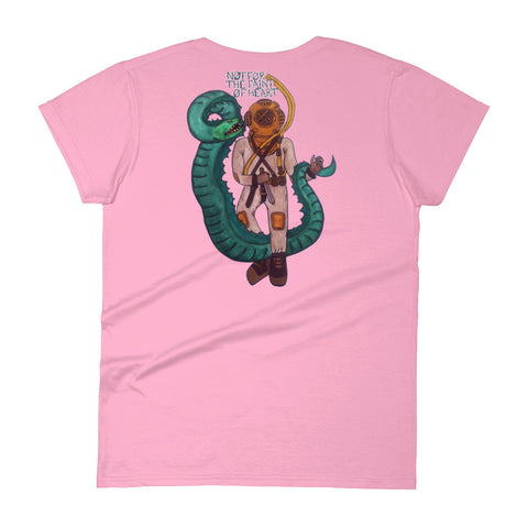 Deep Sea Diver Short Sleeve Women's T-shirt
