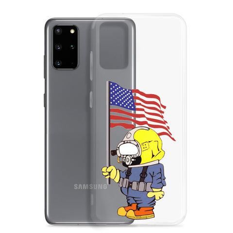 Samsung Galaxy S10/S10+/S10e/S20/S20 Plus/S20 Ultra Phone Case w/ Patriot Diver