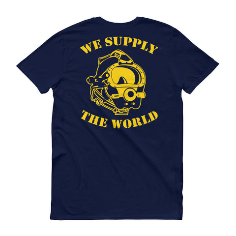 We Supply The World Short Sleeve Men's T-Shirt