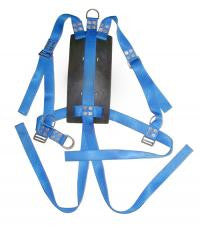 Miller Diving Blue North Sea Bell Back Pack Harness - Size Medium
