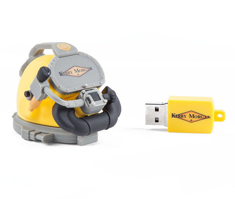 Kirby Morgan 8GB USB Helmet Thumb Drive