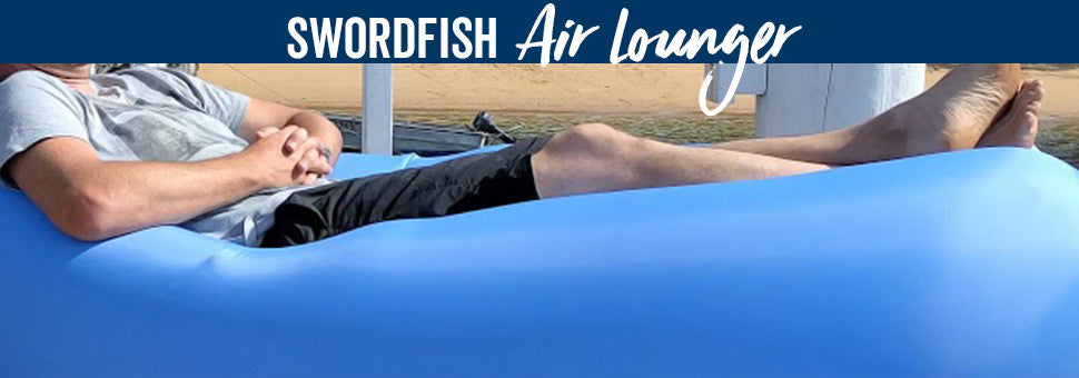*NEW* SWORDFISH B-COZY AIR LOUNGER!