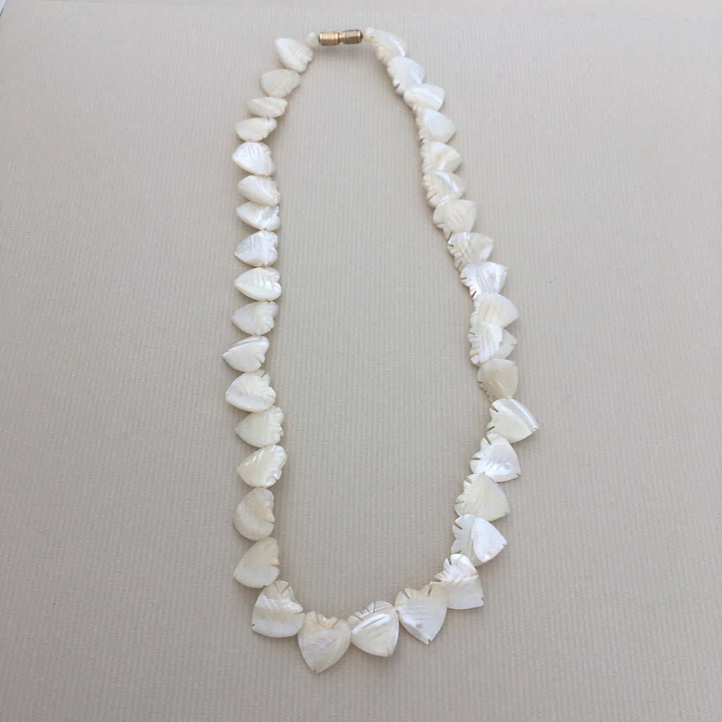 Vintage Mother of Pearl Choker Necklace – English Frippery