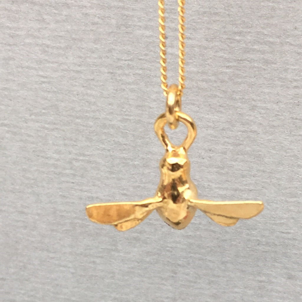 By Emily Gold Bee Mine Necklace H7itboQD
