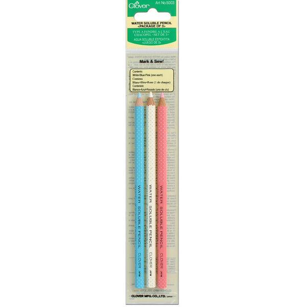 Clover Water Soluble Pencil Assorted