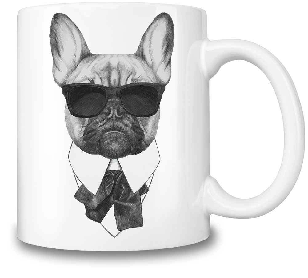 Frankie the French Bulldog by Mug Rehab
