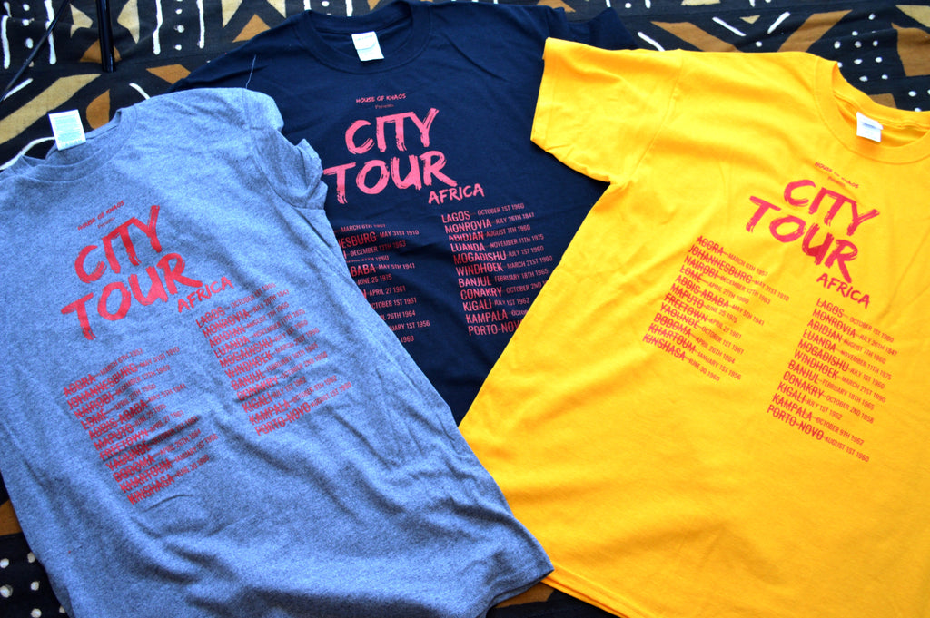 City Tour T-shirts