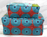 African Print Makeup Bag(medium)