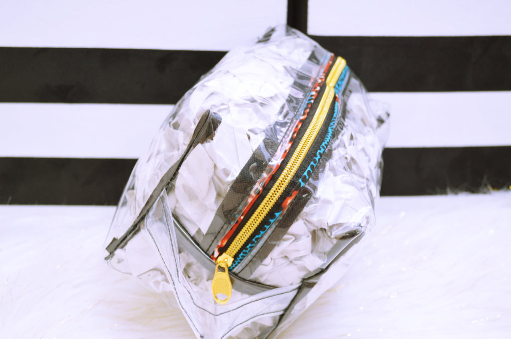 Clear Makeup Bag(medium)