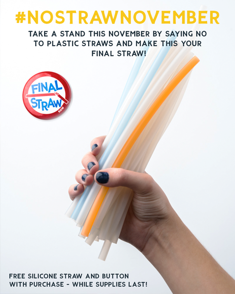 keep nature wild - no straw November