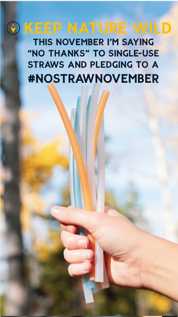 keep nature wild - on straw November