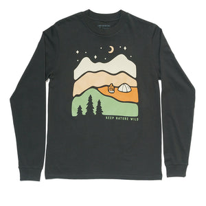 Better in the Mountains Unisex Long Sleeve | Coal