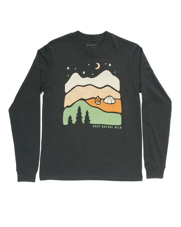 Better in the Mountains Unisex Long Sleeve | Black 1