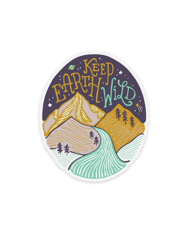 2018 Keep Earth Wild | Sticker - Keep Nature Wild