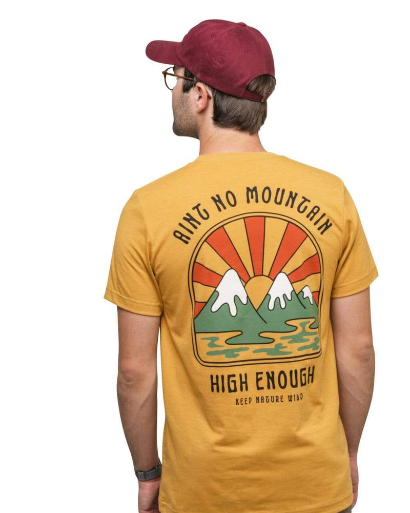 Keep Nature Wild Tee Ain't No Mountain Unisex Tee | Golden