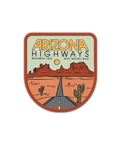 Keep Nature Wild Sticker Arizona Highways | Sticker