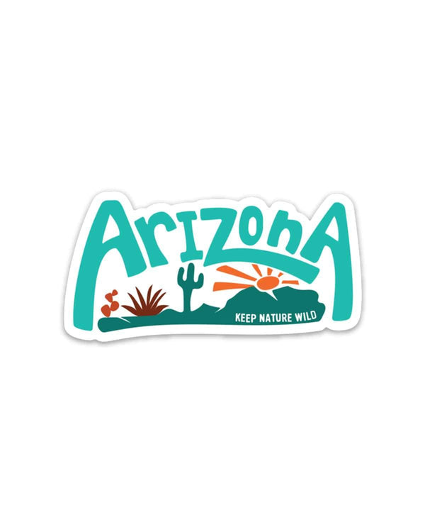 Arizona Landscape | Sticker - Keep Nature Wild