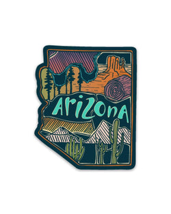 Arizona Love | Sticker - Keep Nature Wild