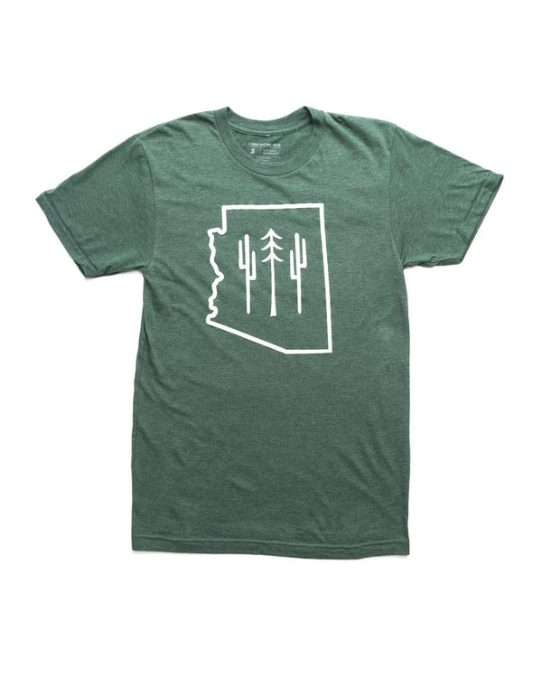 Arizona Wilderness Unisex Tee | Forest - Keep Nature Wild