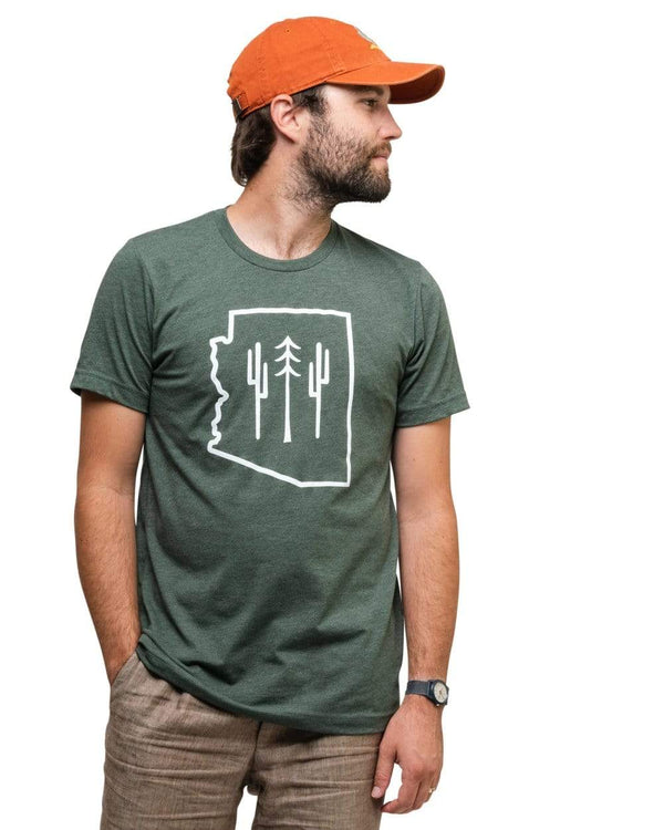 Keep Nature Wild Tee Arizona Wilderness Unisex Tee | Forest