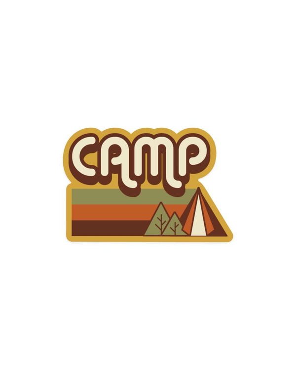 Keep Nature Wild Sticker At Camp | Sticker