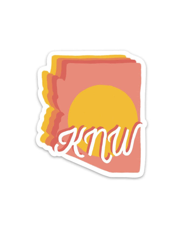 AZ Sunnyside | Sticker - Keep Nature Wild