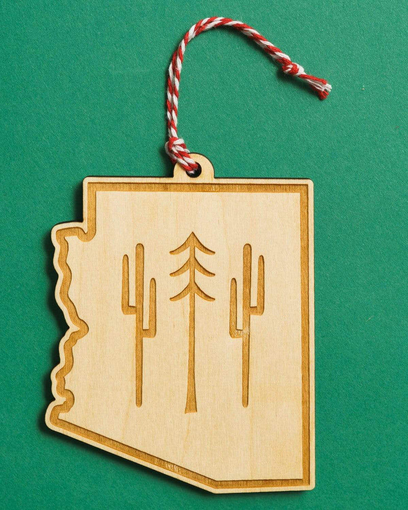 Keep Nature Wild Ornament AZ Wilderness Holiday Ornament