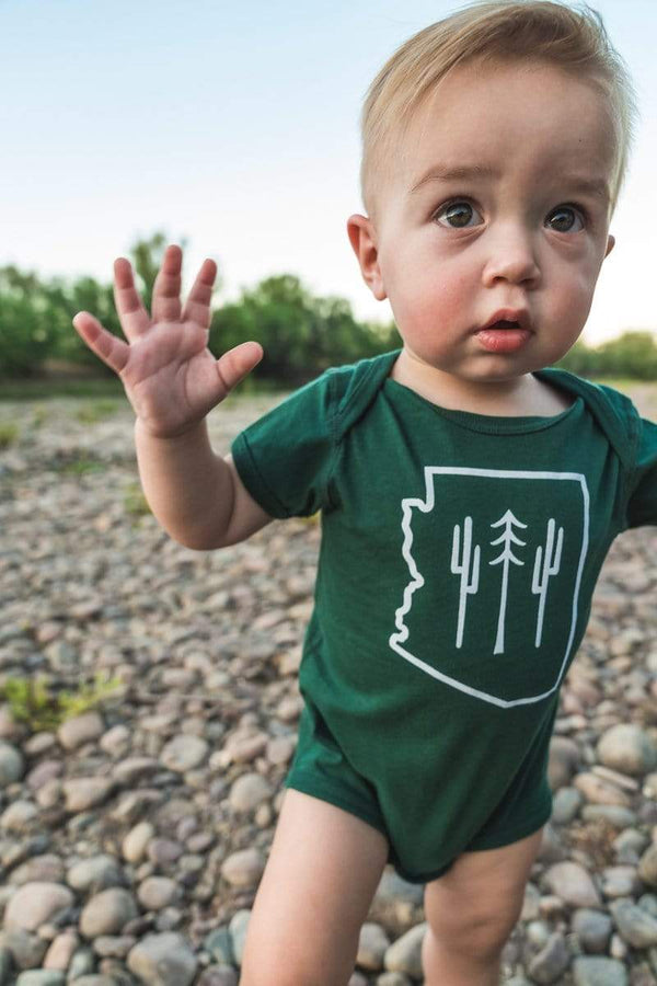 AZ Wilderness Onesie | Forest - Keep Nature Wild