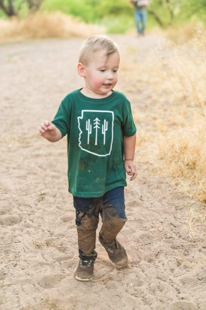 AZ Wilderness Toddler Tee | Forest - Keep Nature Wild