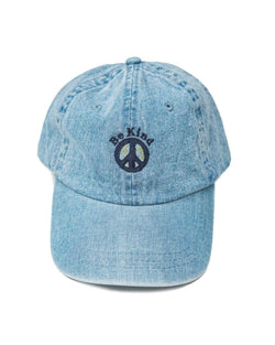 Keep Nature Wild Hat Be Kind Dad Hat | Washed Denim