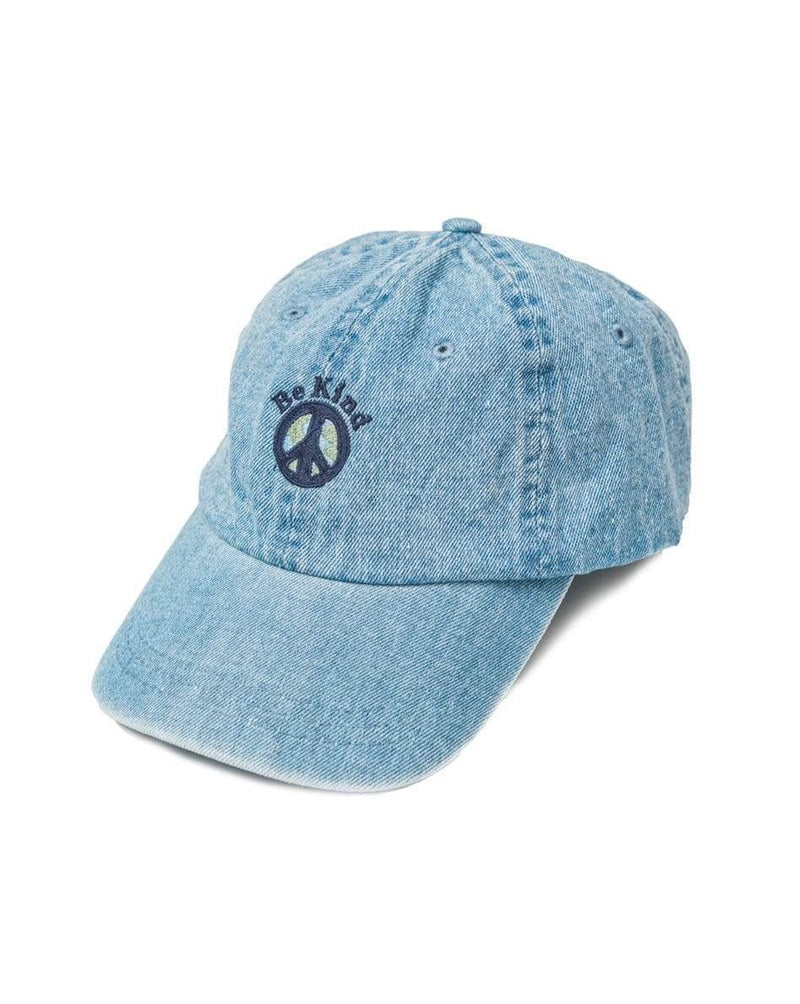 Be Kind Dad Hat | Washed Denim