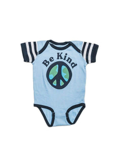 Keep Nature Wild Kids Be Kind Unisex Onesie | Sky Blue